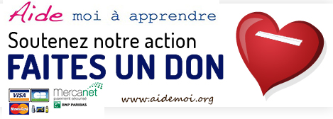 Faire un don au centre Aide moi a Apprendre Paris